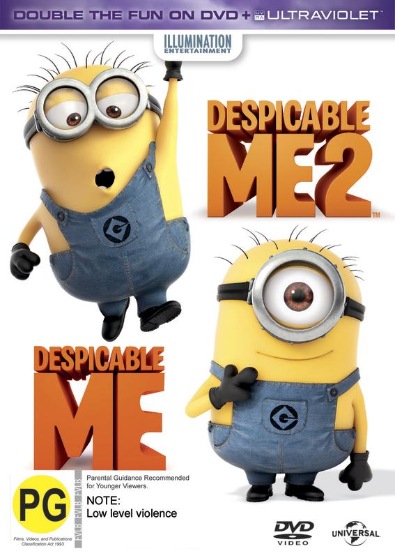 Despicable Me 2 / Despicable Me on DVD