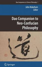 Dao Companion to Neo-Confucian Philosophy image