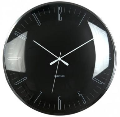 Karlsson Wall Clock - Dragonfly: Black