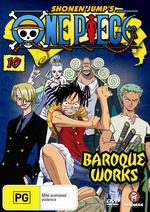 One Piece - Vol. 10: Baroque Works on DVD