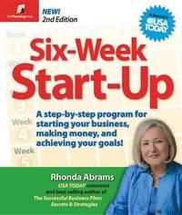 Six-Week Start-Up by Rhonda Abrams image