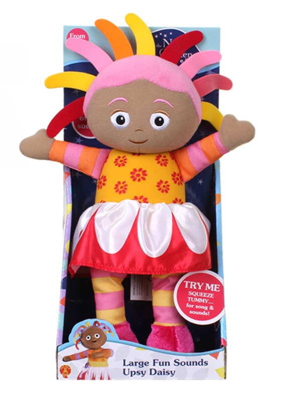 In The Night Garden: Upsy Daisy - Large Talking Plush