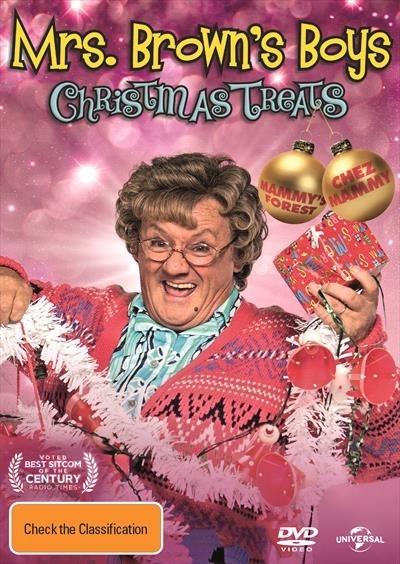 Mrs. Browns - Christmas Treats on DVD image