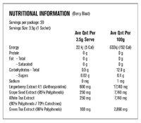 Vi-Tea Antioxidant Tea - Berry (20x3.5g) image