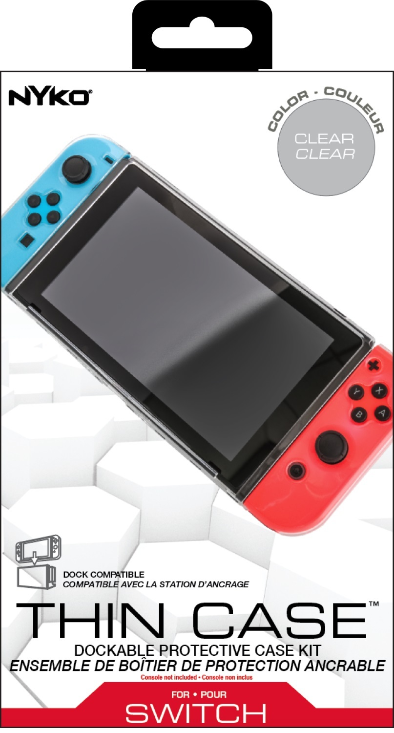 Nyko Thin Case (Clear) for Nintendo Switch screenshot