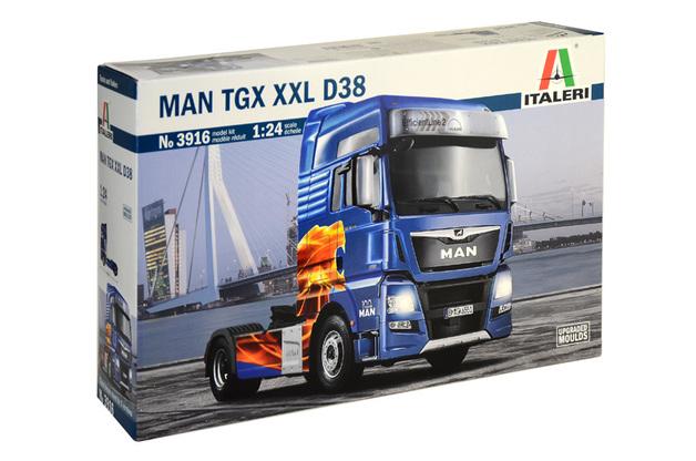 Italeri 1/24 Man TGX XXL D38 - Scale Model Kit