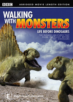 Walking With Monsters - Life Before Dinosaurs: Abridged Movie Length Edition on DVD