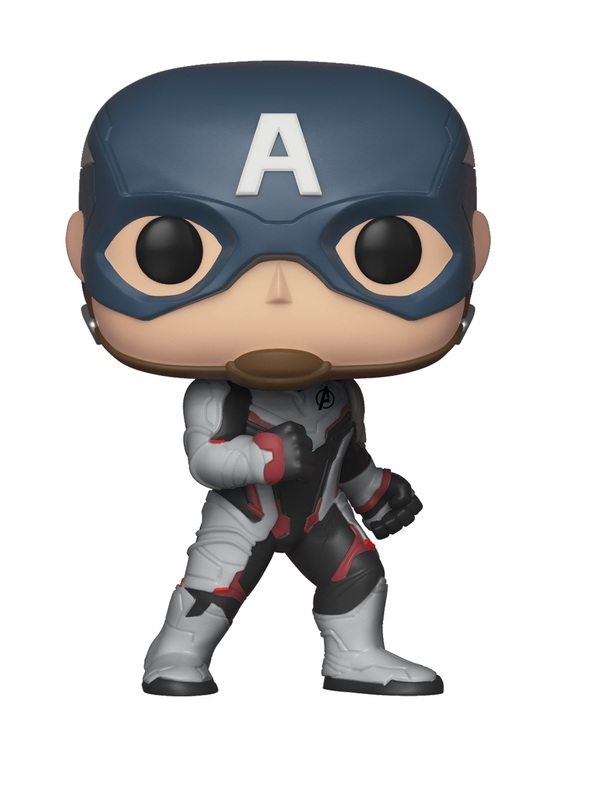 Avengers: Endgame - Captain America (Team Suit) Pop! Vinyl Figure