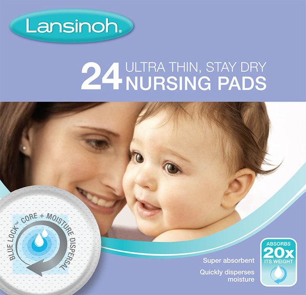 Lansinoh: Disposable Breastfeeding Nursing Breast Pads (24s)