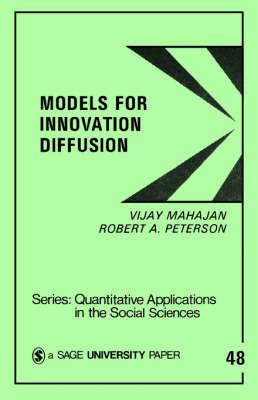 Models for Innovation Diffusion by Vijay Mahajan