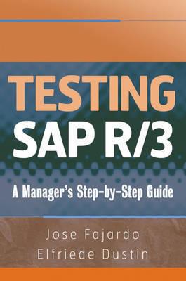 Testing SAP R/3 by Jose Fajardo