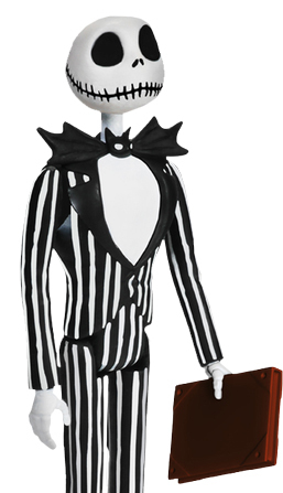Nightmare Before Christmas: Jack Skellington - ReAction Figure