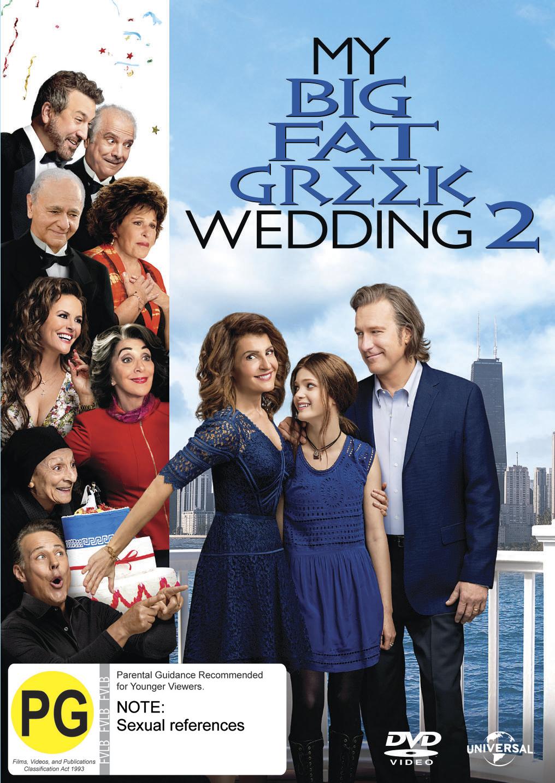 My Big Fat Greek Wedding 2 on DVD image