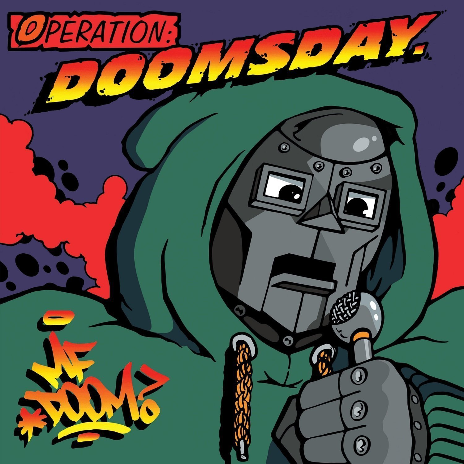 Operation Doomsday (Limited 2LP w/Poster) by MF Doom image