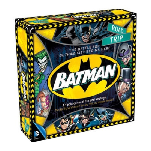 DC Comics: Batman Road Trip Board Game
