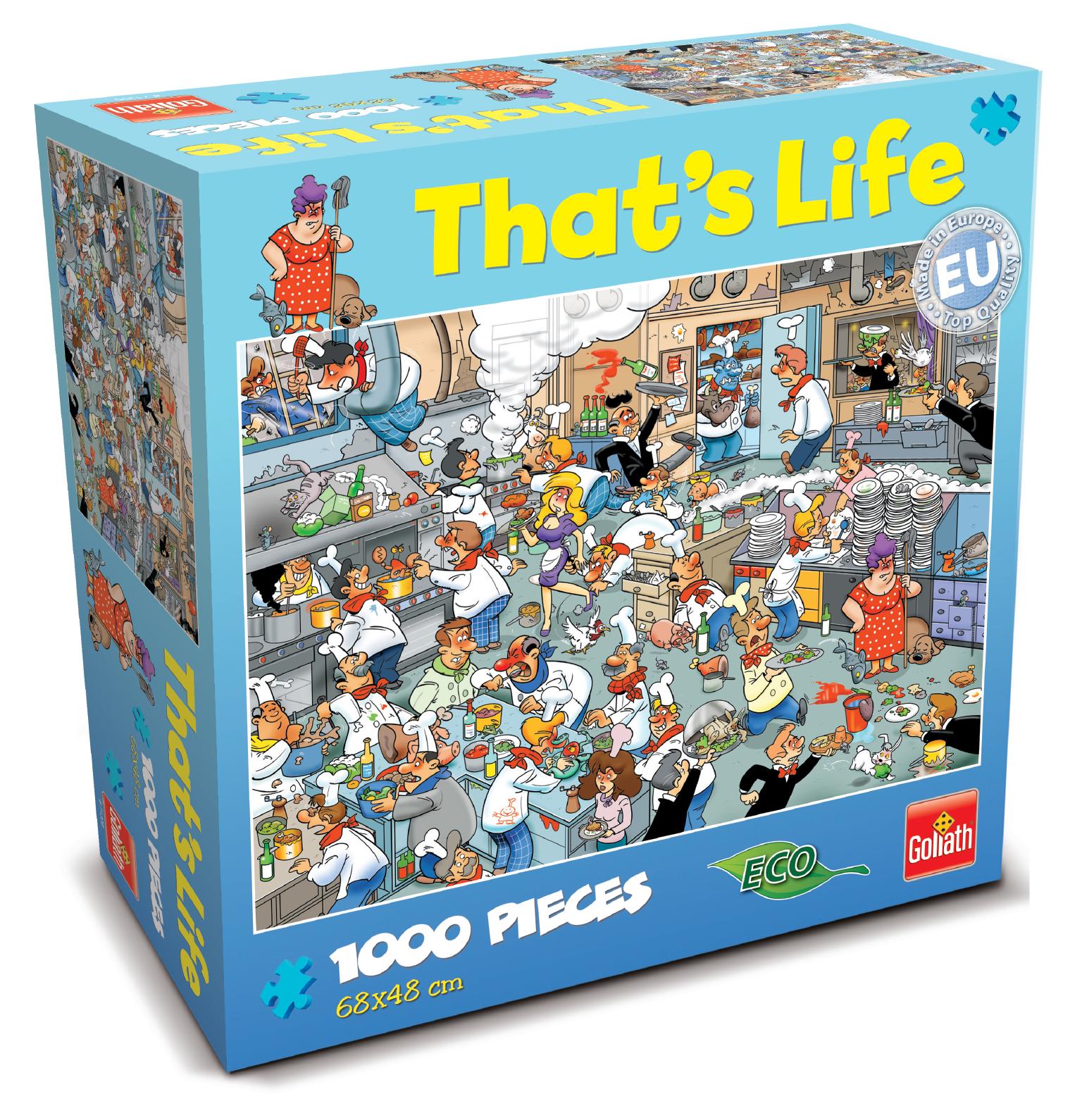 That's Life 1,000 Piece Jigsaw (Kitchen) image