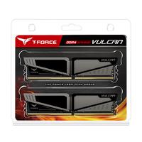 2x4GB T-Force Vulcan - Grey 2400Mhz DDR4 RAM image