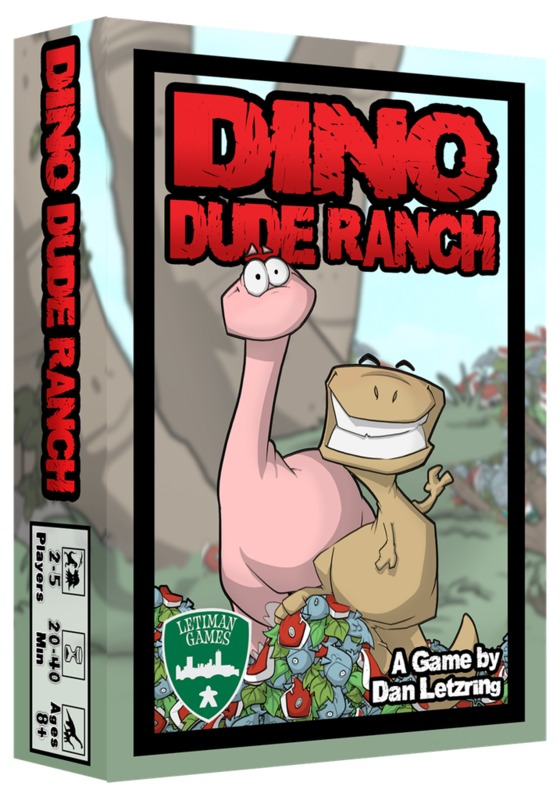 Dino Dude Ranch - Board Game