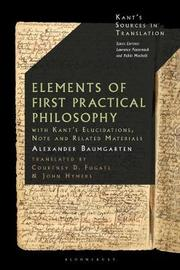 Introduction to First Philosophy by Alexander Baumgarten