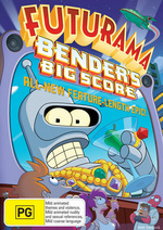 Futurama - Bender's Big Score on DVD