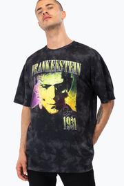 Just Hype: Mens T-Shirt - Frankenstein Retro L