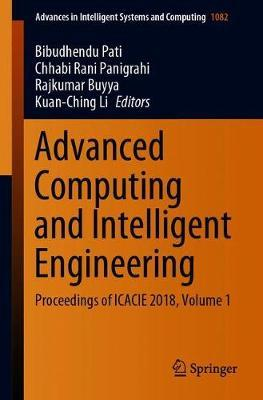 Advanced Computing and Intelligent Engineering