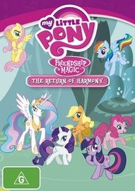 My Little Pony Friendship is Magic - The Return of Harmony on DVD