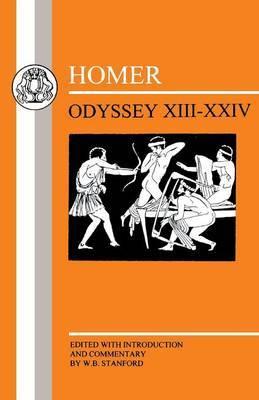 Odyssey: Bks. 13-24 by Homer image