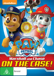 Paw Patrol: Marshall And Chase On The Case on DVD