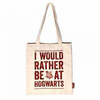 Harry Potter: Hogwarts Slogan - One Colour Shopper