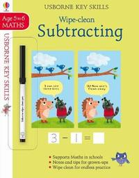 Wipe-clean Subtracting 5-6 by Holly Bathie
