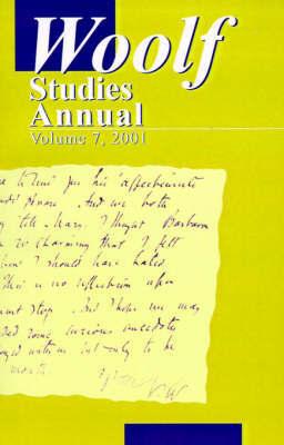 Woolf Studies Annual