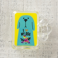 Natural Life: Toothbrush Cover - I Love My Dog