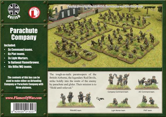 Flames of War - British Parachute Company image