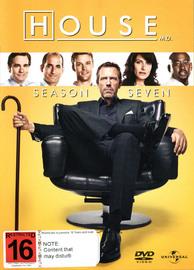 House, M.D. - Season 7 (6 Disc Set) on DVD