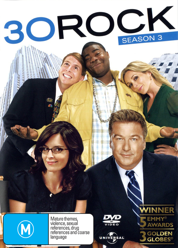 30 Rock - Season 3 on DVD