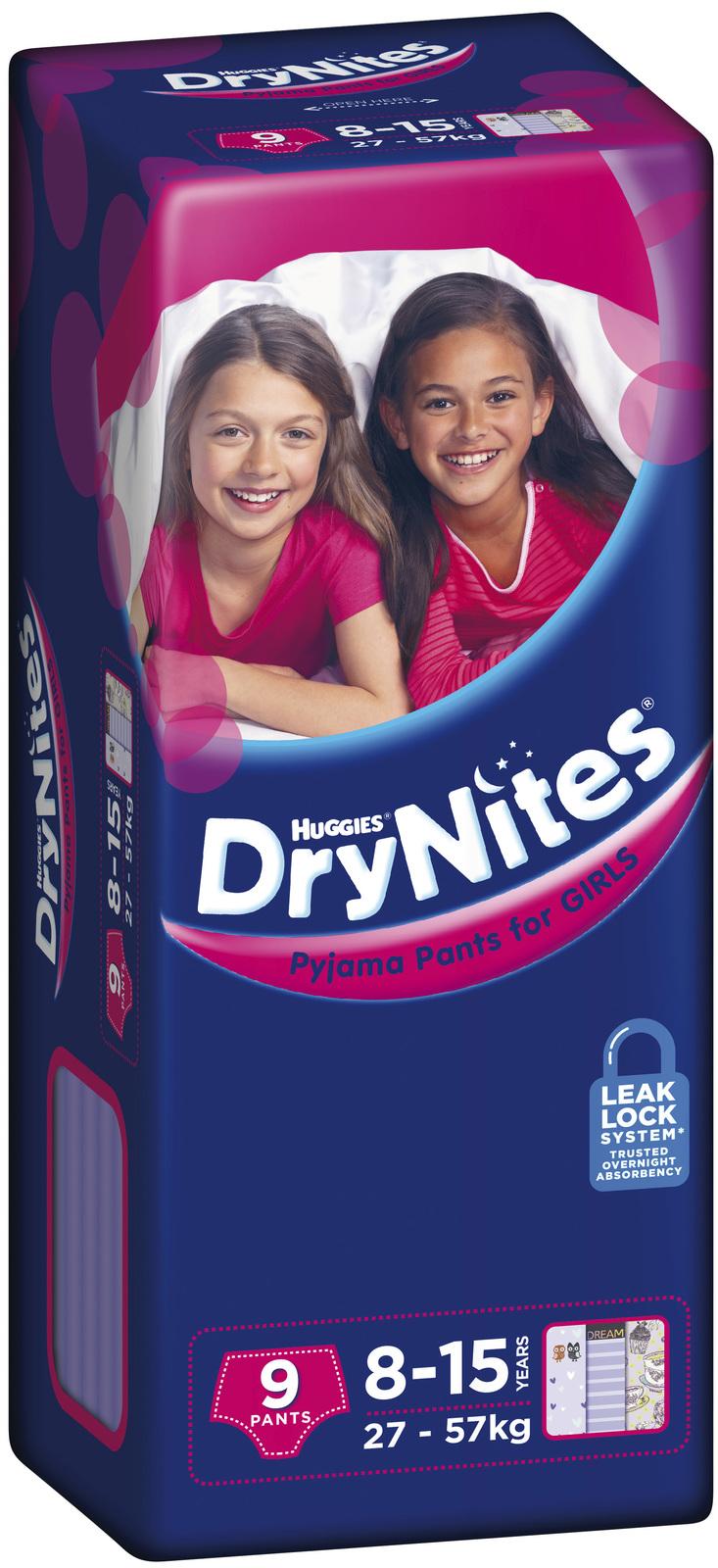 Drynites pyjama pants 8 15 year girl 27 57kg 9 at mighty ape nz