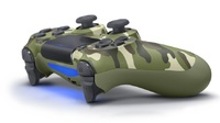 PlayStation 4 Dual Shock 4 v2 Wireless Controller - Green Camouflage for PS4 image