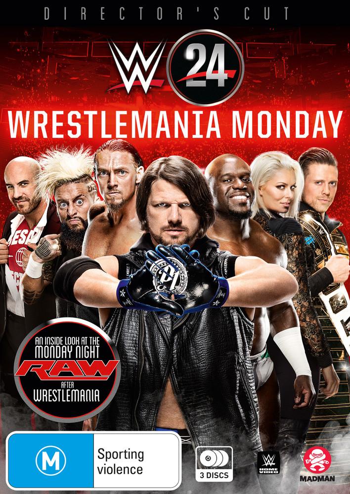 WWE: WWE 24: Wrestlemania Monday on DVD image
