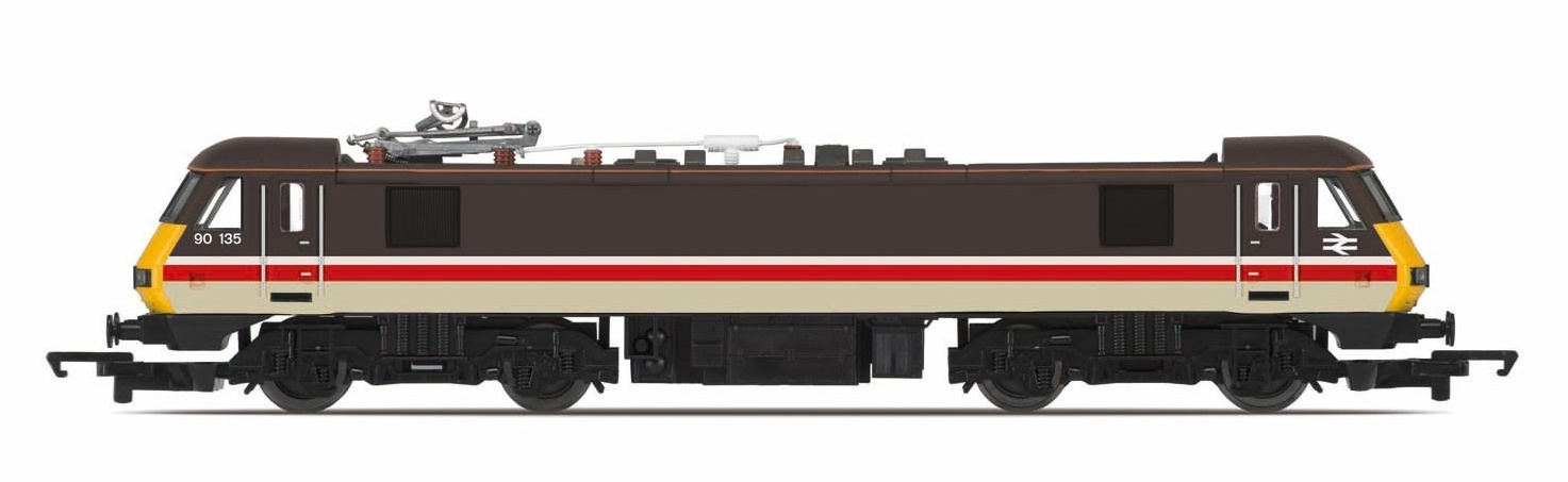 Hornby: Railroad BR Intercity '90135' Bo-Bo Class 90 image