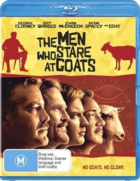 The Men Who Stare At Goats on Blu-ray
