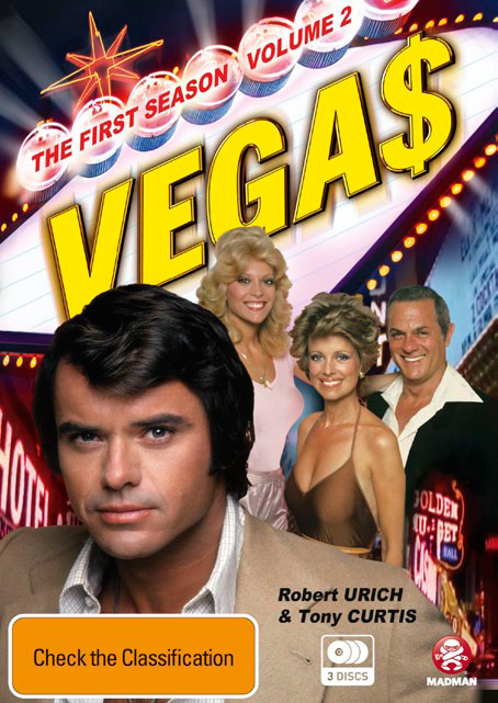 Vegas: Series 1 - Part 2 (3 Disc Set) on DVD image