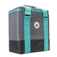 Smash: Crosscut Cooler Bag - Grey/Teal (20L)