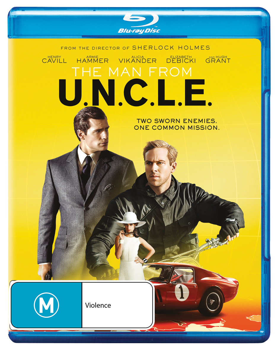 The Man From U.N.C.L.E on Blu-ray image