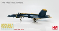 "Hobby Master: 1/72 HA3514 McDonnell Douglas F/A-18C ""Blue Angels 2010"" Model"