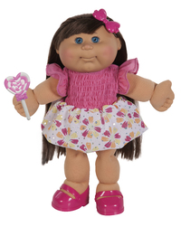 """Cabbage Patch Kids: 14"""" Plush Doll - Spring Pink Girl (Assorted Designs)"""