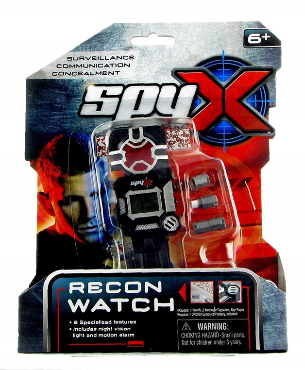 SpyX - Spy Recon Watch