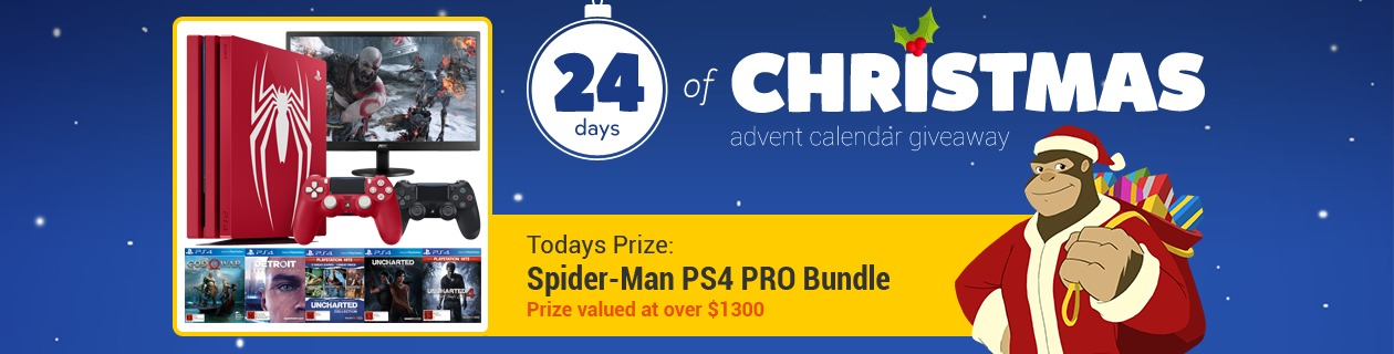 24 Days: Spider-Man PlayStation 4 PRO Bundle