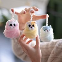 Purritos: Plush Key-Ring - Mochi