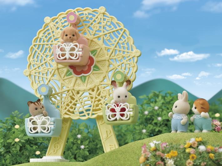 Sylvanian Families - Baby Ferris Wheel image